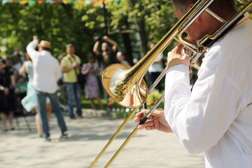Fete de la musique Berlin, Blasmusik